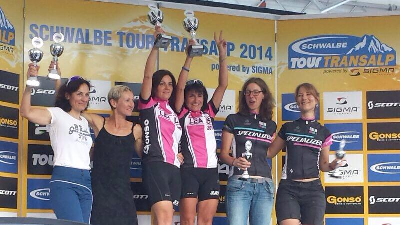Un po' di 33 alla Transalp … ed è podio assoluto femminile!!!