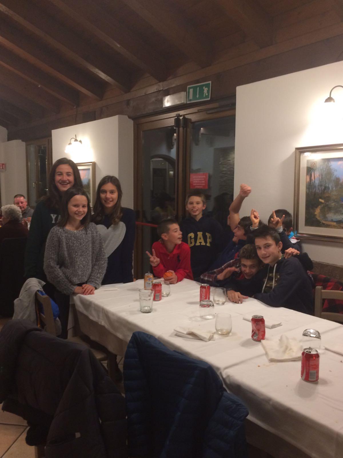 Cena di fine stagione per i Giovani 33TT