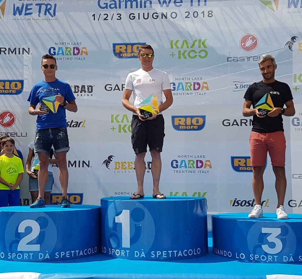 A Michele Parolari il medio del Garmin We Tri