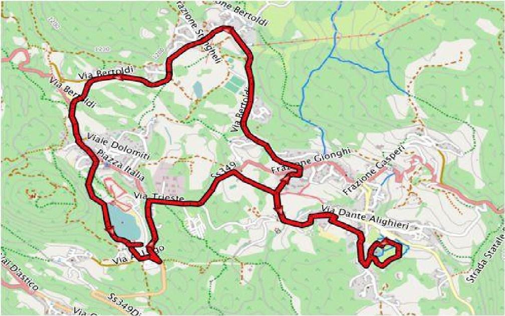 Nuovo percorso run olimpico bdc