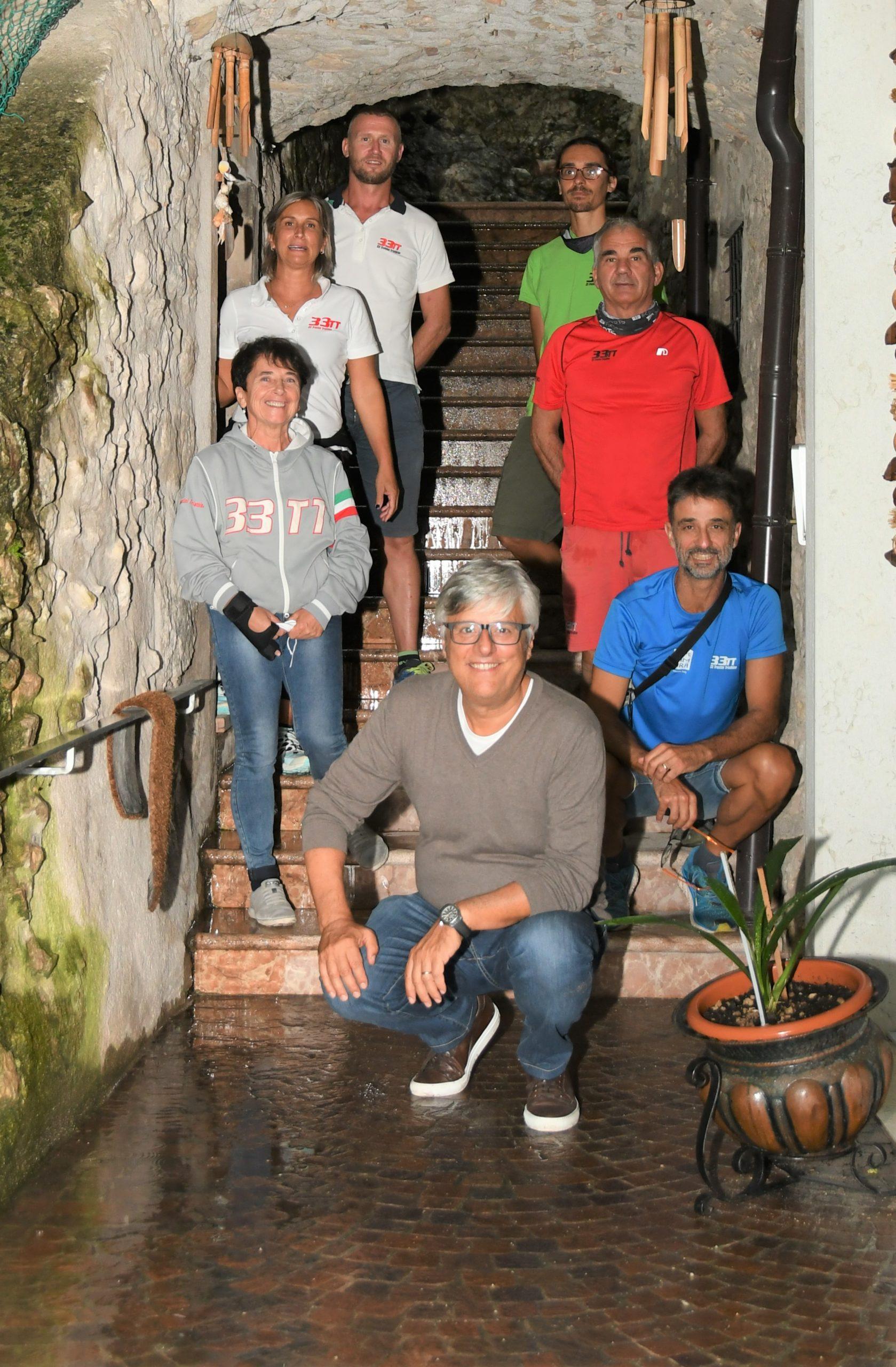 Il presidente FITRI Bianchi incontra gli amici della 33TT